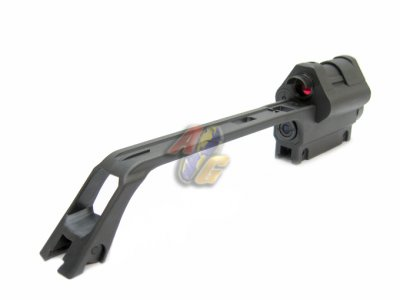 Ares G36 Carry Handle With 4x Scope Amp Reflex Red Dot Sight