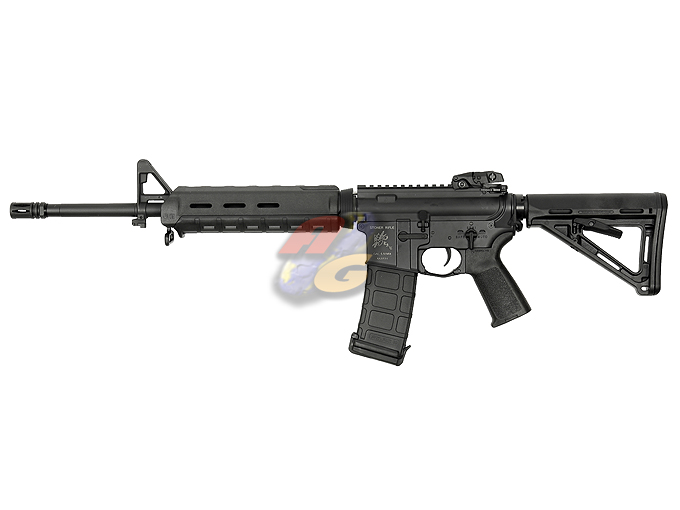 AG Custom X Beta Project X Magpul PTS Mid Length M4 AEG (Blowback, BK, KAC) * - Click Image to Close