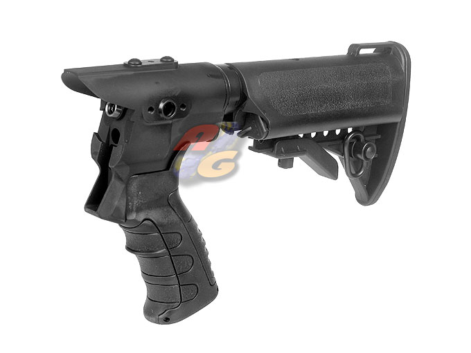G&P Gas Charging Collapsible Stock Set For Tokyo Marui M870 - Click Image to Close