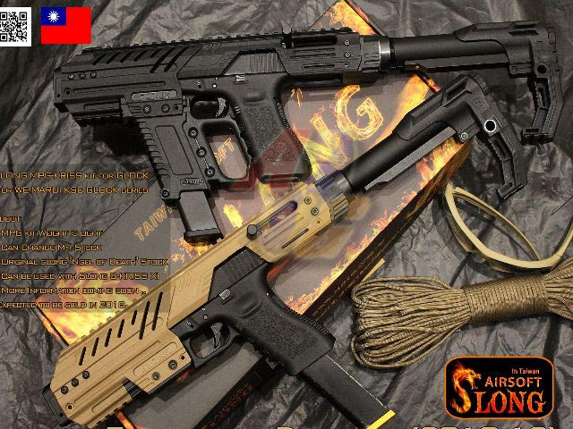 --Pre Order--SLONG MPG Carbine Kit with G-KRISS XI For G17 Series GBB ( DE ) - Click Image to Close