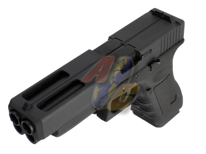 WE Double Barrel G34 GBB ( BK ) - Click Image to Close