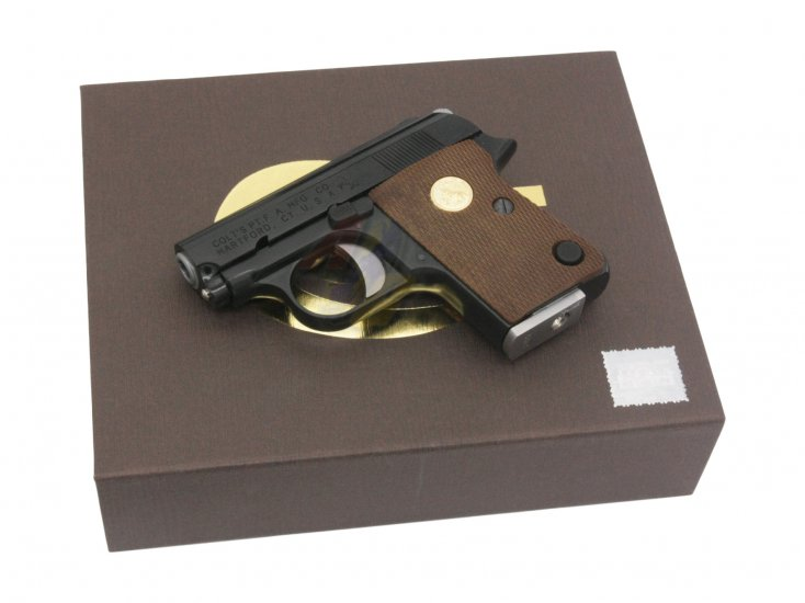 --Out of Stock--Cybergun/ WE Colt.25 GBB Pistol with Marking ( Black ) - Click Image to Close