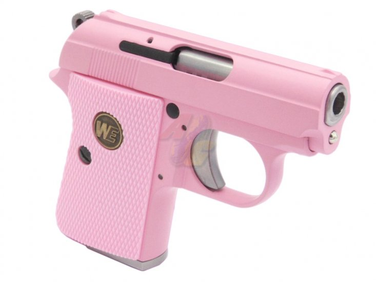 WE CT25 GBB Pistol ( Pink ) - Click Image to Close