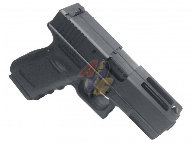WE Double Barrel G23 GBB ( BK ) - Click Image to Close