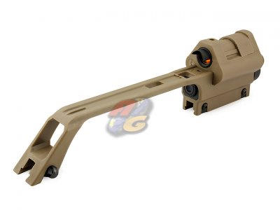 Ufc G36 Carry Handle With 3 5x Scope Amp Reflex Red Dot