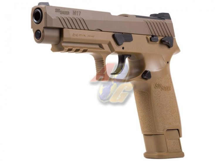--Out of Stock--SIG SAUER Licenced M17 P320 Co2 Pistol ( Tan ) - Click Image to Close