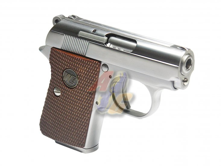 WE CT25 GBB Pistol ( Silver ) - Click Image to Close