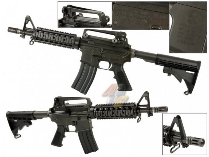 WE M4 CQBR GBB with Marking(Gas BlowBack, Open Bolt) - Click Image to Close