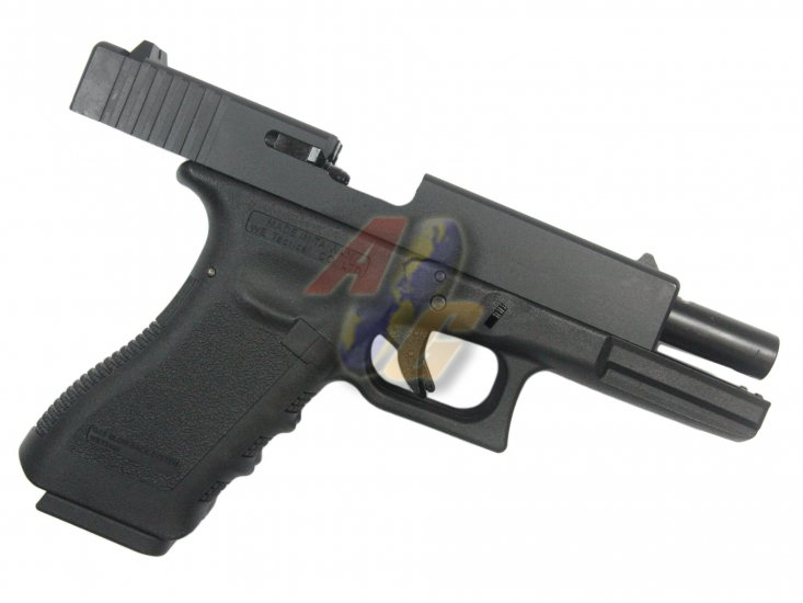WE Double Barrel G18C GBB ( BK ) - Click Image to Close