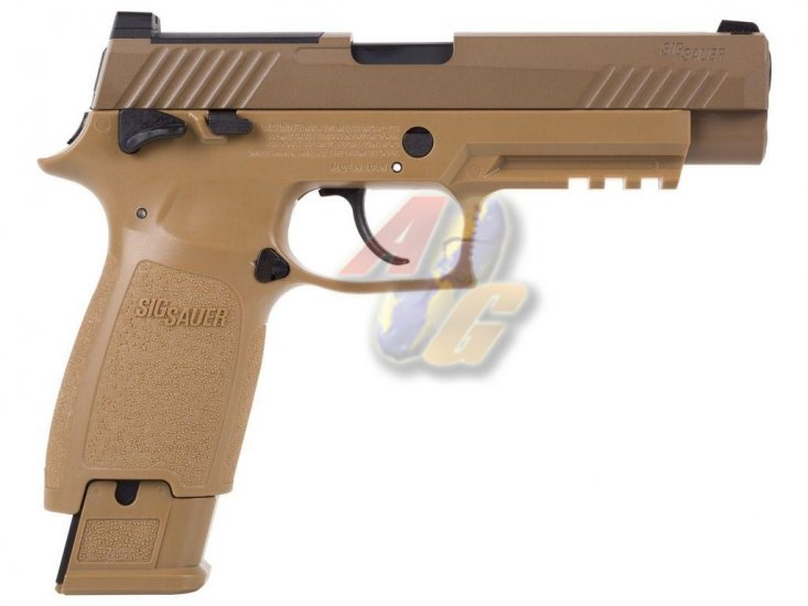--Pre Order--SIG SAUER Licenced M17 P320 Co2 Pistol ( Tan ) - Click Image to Close