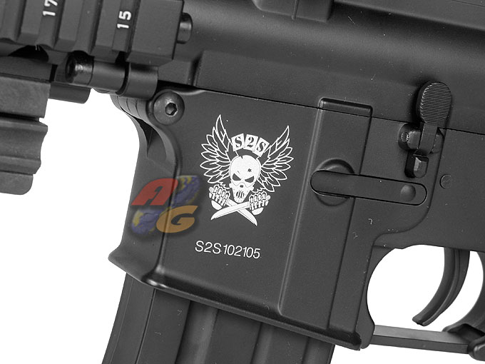AG Custom E&C MK18 Mod1 with Red Dot and Grenade Launcher - Click Image to Close