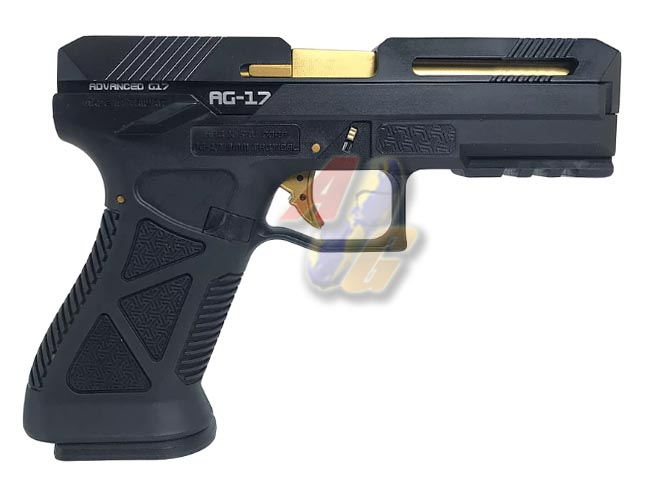 HFC AG-17 Advanced G17 GBB ( Black ) - Click Image to Close