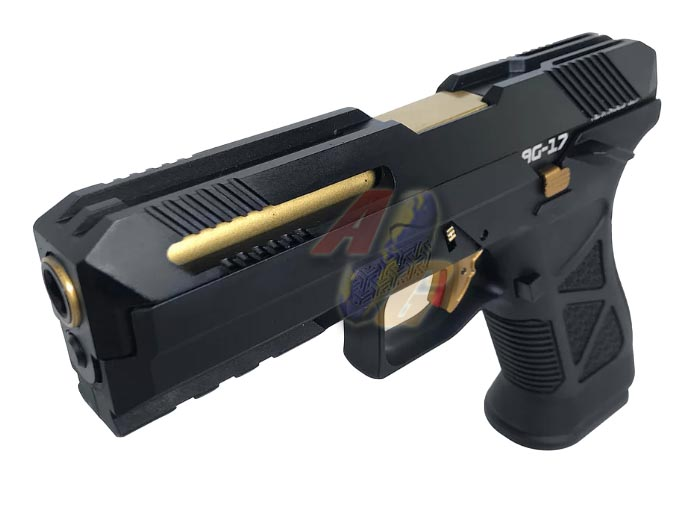 --Pre Order--HFC AG-17 Advanced G17 GBB ( Black ) - Click Image to Close