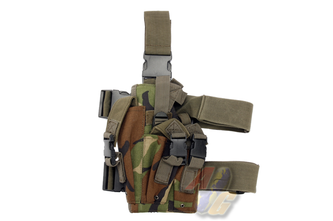 Odyssey Socom MK23 Full Set Holster (Woodland@Dupont1000D)-Left [ODY