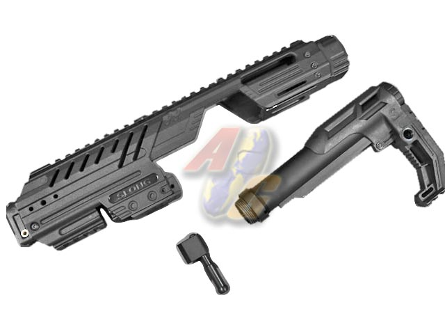 --Pre Order--SLONG MPG Carbine Kit For G17 Series GBB ( BK ) - Click Image to Close