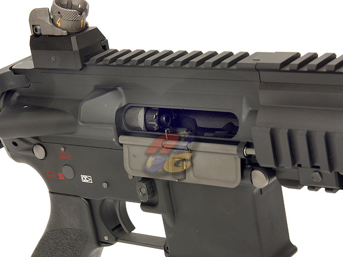 WE 4168 GBB (Gas Blowback, Open Bolt, BK ) - Click Image to Close